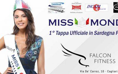Miss Mondo a Cagliari presso la Palestra Falcon Fitness